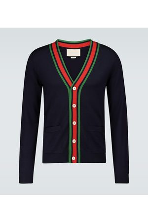 Gucci Knitted wool cardigan