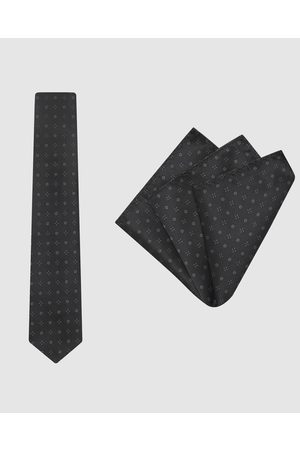 Buckle Bloom Tie & Pocket Square Set - Ties Bloom Tie & Pocket Square Set