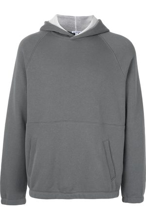 James Perse Terry seamed hoodie
