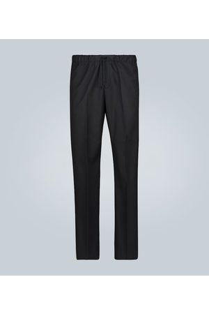 DRIES VAN NOTEN Straight-leg cotton pants