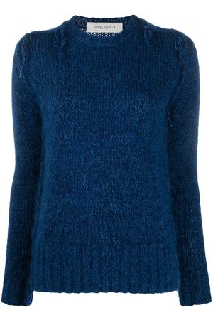 Golden Goose Frayed-knit jumper