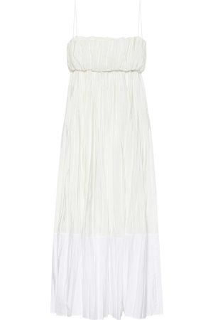 Jil Sander Two-tone maxi dress