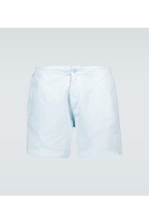 Orlebar Brown Bulldog cotton linen shorts