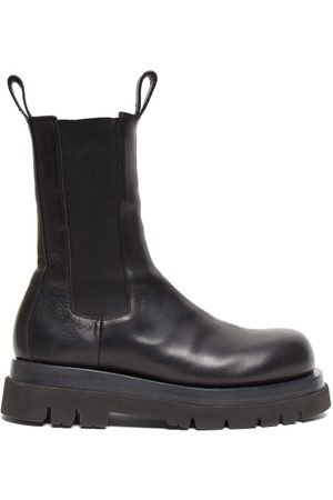 Bottega Veneta Men Boots - Tread-sole Leather Boots - Mens