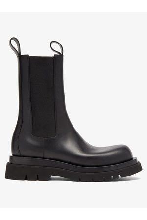 Bottega Veneta Tread-sole Leather Boots - Mens