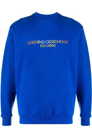 Opening Ceremony Embroidered logo sweatshirt