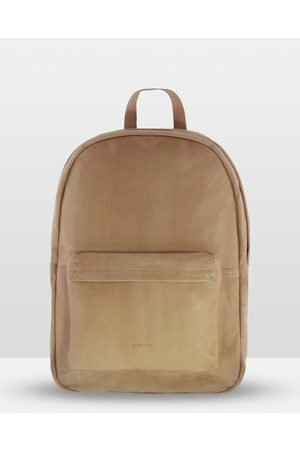 Cobb & Co Byron Soft Leather Backpack - Bags (CAMEL) Byron Soft Leather Backpack