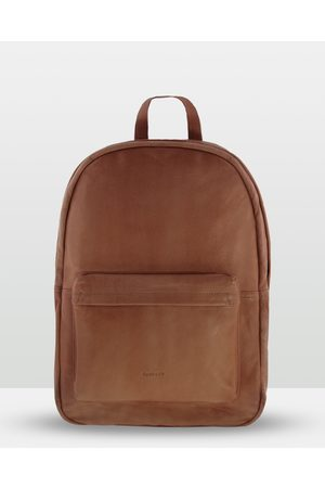 Cobb & Co Byron Soft Leather Backpack - Bags (Cognac) Byron Soft Leather Backpack