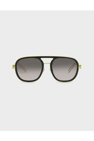 CHARLES & KEITH Double Bridge Sunglasses