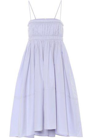Chloé Cotton-poplin minidress