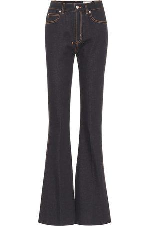 Alexander McQueen High-rise bootcut jeans