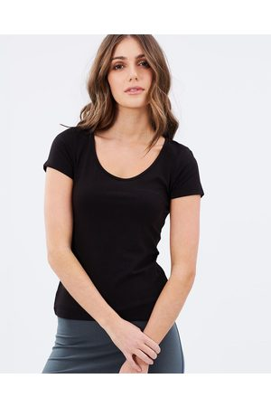 Bamboo Body Bamboo Essential Scoop Tee - T-Shirts & Singlets Bamboo Essential Scoop Tee