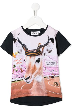 Molo Kids Risha Your Own Pace print T-shirt