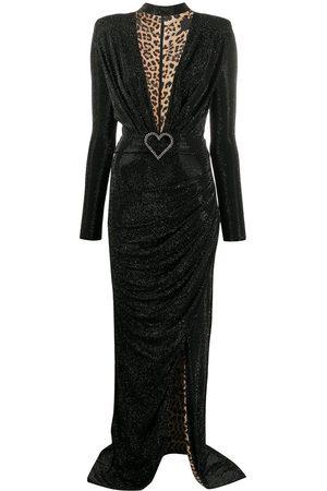 Philipp Plein Women Asymmetrical Dresses - Aphrodite stud embellished asymmetric dress
