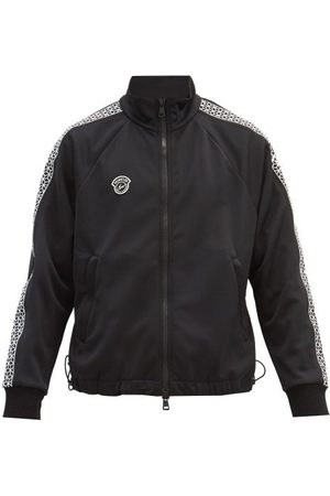 7 MONCLER FRAGMENT Cube-embroidered Jersey Track Jacket - Mens