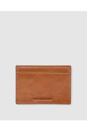 Kinnon Men Wallets - THP x Card Holder - Wallets (Tan) THP x Card Holder