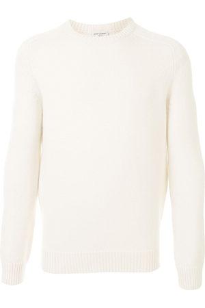 Saint Laurent Men Sweatshirts - Cashmere crew neck jumper
