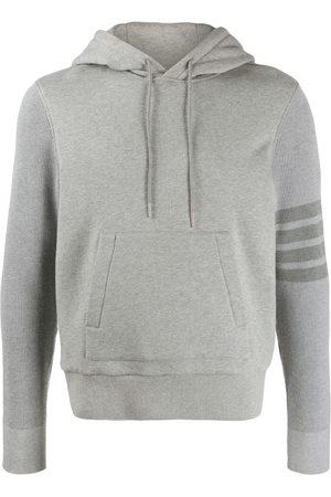 Thom Browne Men Hoodies - 4-Bar loopback hoodie