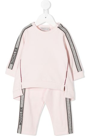 Moncler Logo panel tracksuit set