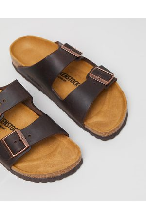 Birkenstock Unisex Arizona Nu Oiled Narrow Sandals - Casual Shoes (Nu Oiled Habana ) Unisex Arizona Nu Oiled Narrow Sandals