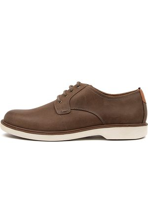 Florsheim Men Casual Shoes - Supacush Plain Fl Khaki Shoes Mens Shoes Casual Flat Shoes