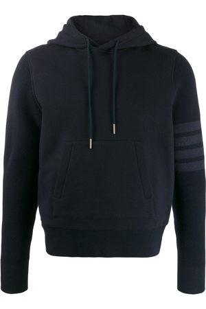 Thom Browne 4-Bar loopback hoodie