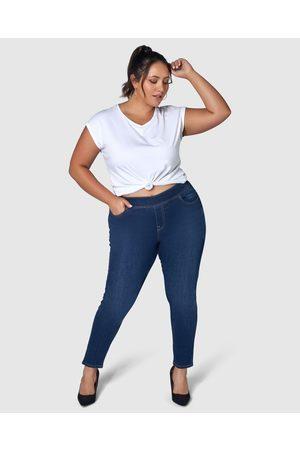 Indigo Tonic Judi Skinny Jegging - Jeans (Navy) Judi Skinny Jegging