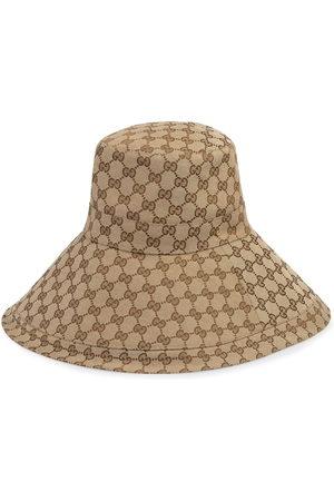 Gucci GG wide brim hat