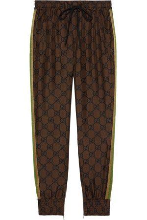 Gucci Women Joggers - GG Supreme print track pants