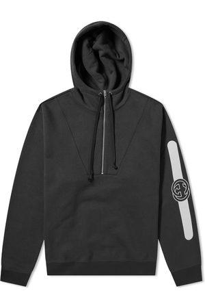 Gucci Half Zip Popover Logo Hoody