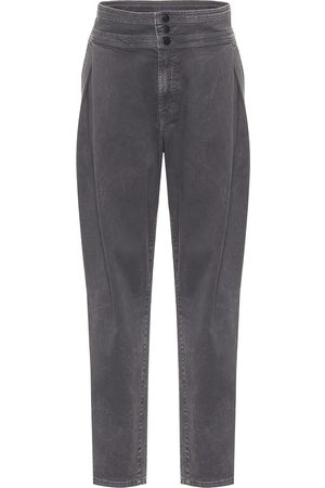 J Brand Carey high-rise tapered jeans