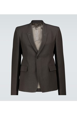 Rick Owens Technical single-breasted blazer