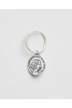 Serge DeNimes Coin Hoop Earring - Jewellery Coin Hoop Earring