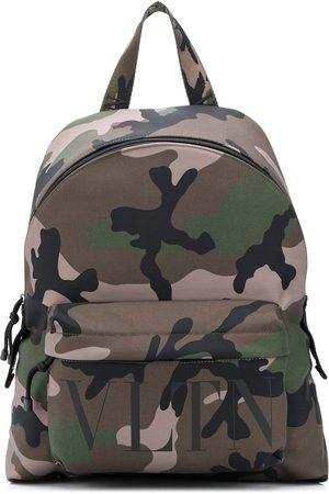VALENTINO VLTN camouflage backpack