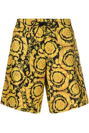 VERSACE Barocco-print knee-length swim shorts