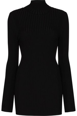 Paco rabanne Ribbed roll-neck jumper