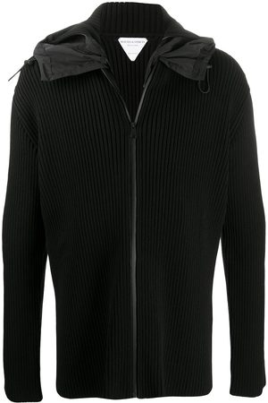 Bottega Veneta Ribbed zip-up hoodie