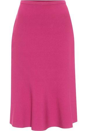 Diane von Furstenberg Marion stretch-knit midi skirt