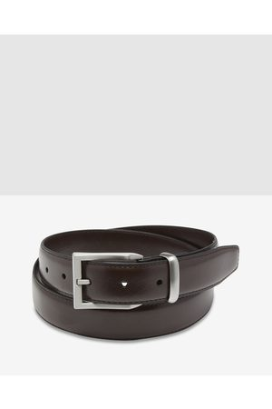 Oxford Arlen Leather Belt - Belts (Chocolate) Arlen Leather Belt