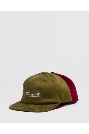 ONEBYONE Suede Snapback 2 Pack - Hats (Multi) Suede Snapback 2-Pack