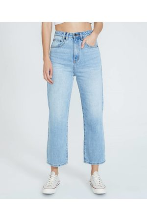 Insight Phoebe Easy Straight Crop Jeans Tide
