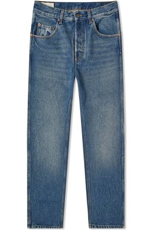 Gucci Men Tapered - Tapered Fit Washed Jean