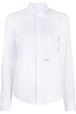 Dsquared2 Cutaway collar shirt