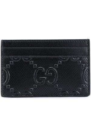 Gucci Men Wallets - GG embossed cardholder
