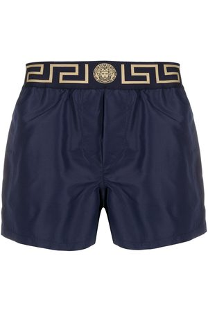 VERSACE Logo swim shorts