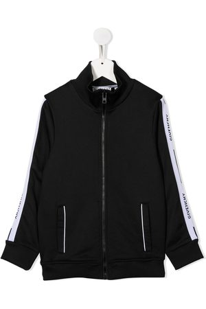 Givenchy Boys Bomber Jackets - Logo side panel jacket