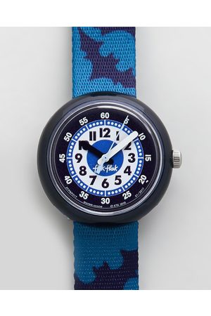 Flik Flak NIGHT GUARDS - Watches (Navy) NIGHT GUARDS
