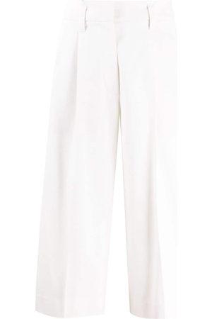 Brunello Cucinelli Straight-leg darted culottes