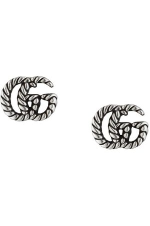 Gucci Double G rope chain earrings