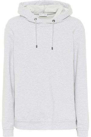 Brunello Cucinelli Cotton-blend hoodie